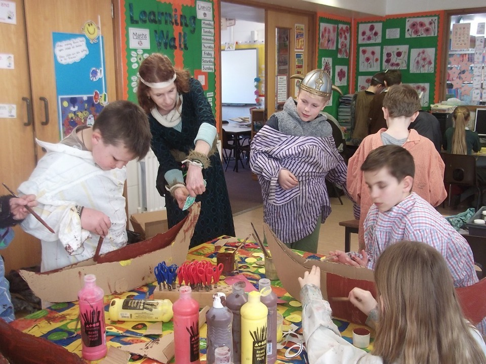 Fressingfield Primary School Viking Day