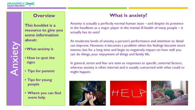 thumbnail of Anxiety Booklet