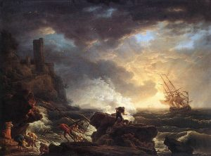 Image result for famous paintings of storms